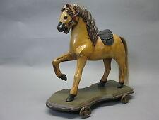 Holzpferd Schaukelpferd Karussellpferd 40 cm  Pferd
