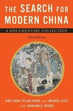 The Search for Modern China : A Documentary Collection by Janet Chen, Pei-kai Ch