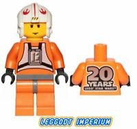 LEGO Minifigure Star Wars - Luke Skywalker 20th Anniversary - sw1024 FREE POST
