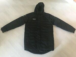 Winterjacke / Stadionjacke HUMMEL Tech Move Beach Jacket in Gr. L - schwarz