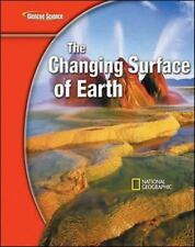 Glencoe Science Modules: Earth Science, The Changing Surface of Earth,-ExLibrary