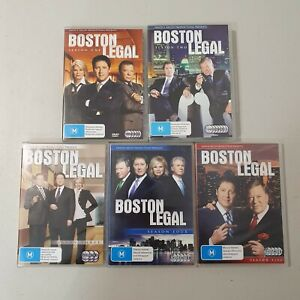 Boston Legal The Compete Series 1 2 3 4 5 DVD (27 Discs)  Season 1-5