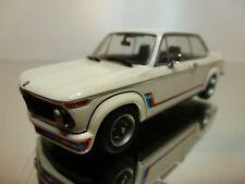 MINICHAMPS BMW 2002 TURBO 1974 - WHITE 1:43 - EXCELLENT CONDITION- 9