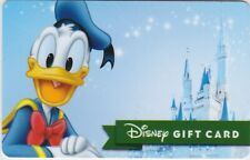 Disney WDW Donald Duck Cinderella's Castle 2018 Gift Card Collectible