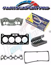 91-96 MITSUBISHI MIRAGE ENGINE REBUILD KIT 1.5L PISTON RINGS GASKET SET BEARING