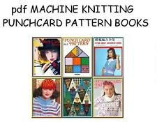 LIBRARY OF 24st PUNCHCARD PATTERN BOOKS on DVD