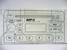 Ford 6000 CD MP3 Radio Unidad de cabeza de Audio de Instrucciones Manual De Operación Libro