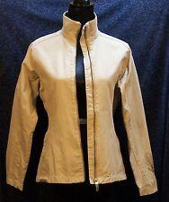 Salomon Women's Tailored Beige Cotton Jacket Medium