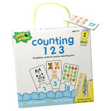 Chimp And Zee Counting 123 Puzzle - Helps Develop Observation & Matching Skills