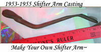 Corvette Parts 1953 1954 1955 Automatic Shifter Casting Arm Needs Finishing