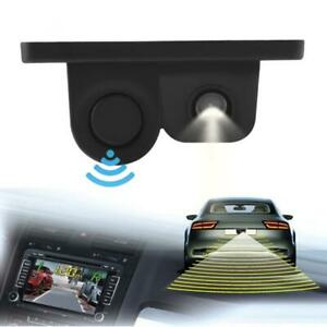 2 in1 Car Parking Reversing Sensor Radar Rear View Backup Night Vision Camera US