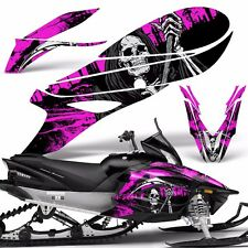 Yamaha APEX Decal Wrap Graphic Kit RTX GT MTX LTX Sled Snowmobile 14-16 REAP PNK
