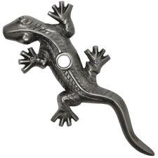 Pewter Doorbell Large Gecko Designer Lizard Lighted Push Button Ringer