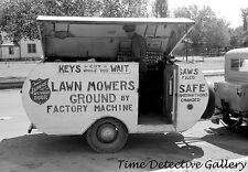 Locksmith's Trailer, Saint John's, Arizona - 1939 - Historic Photo Print