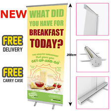 HERBALIFE Printed Roller Banner/Pop/Pull up Exhibition Stand - Breakfast 3