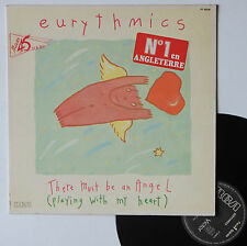 """Vinyle maxi Eurythmics  """"There must be an angel"""""""