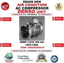 DENSO AIR CONDIZIONE AC Compressore BMW 3 E36 325 TDS 1993-1998 OEM: 64528385914