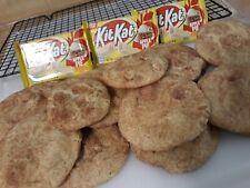 Homemade 🍎 KitKat Apple pie snickerdoodle 🍏 Cookies (1 Dozen) AUCTION!!