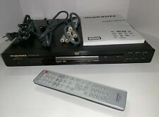 Marantz DV4001 DVD player with remote, power cord, and manual
