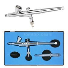 Kkmoon 0.25mm Gravity Gun Feed Dual-action Airbrush Kit Makeup Nail Art B8Y6