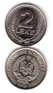 Albania - 2 Leke 1989 UNC Lemberg-Zp