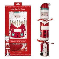 RSW 6 Pack Make your Own Christmas Cracker Kit - Santa