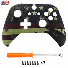 US Flag Design Soft Touch Housing Shell Cover for Xbox One X / One S Controller
