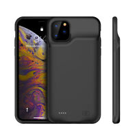 For iPhone 11 Pro 11 Pro Max 10000mAh Battery Power Case Bank Charger Back Cover