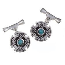 Turquoise Gemstone Cufflinks for Men