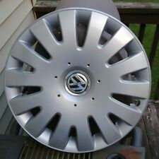 "OEM '05-'10 Volkswagen Jetta 14 Spoke 16"" Hubcap Wheel Cover 1K0601147G Free S&H"