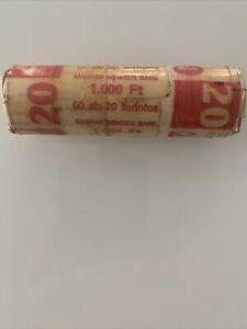 20 Forint Münzen 1 Rolle 50 Münzen