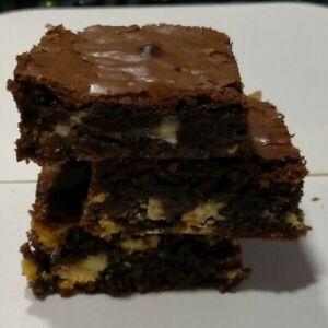 8 Fresh Homemade Chocolate Fudge Brownies