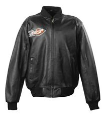 PowerTrip / Power Trip $200 Blackjack leather men's motorcycle jacket NEW/NWT