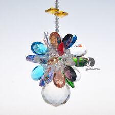 Crystal Ball Sphere Suncatcher centerpiece Gift Christening Rainbows Feng Shui