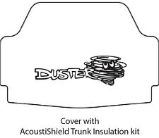 1970 1976 Plymouth Duster Trunk Rubber Floor Mat Cover with MB-060 Duster
