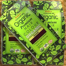 Radico Colour Me Organic Violet Pflanzenhaarfarbe Violett 100g Naturkosmetik Bio