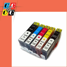 5 CARTUCCE  COMPATIBILI + CHIP PER HP364XL Officejet 4620 e-All-in-One (CZ152B)