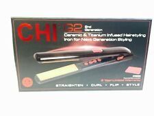 "CHI FAROUK G2 1"" CERAMIC & TITANIUM INFUSED HAIRSTYLING FLAT IRON - AUTHENTIC!"