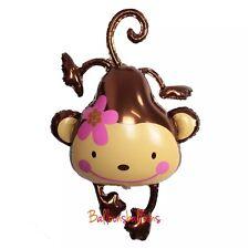 "33"" Monkey Balloon Helium Party Birthday large Decoration Animal Zoo"