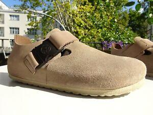 BIRKENSTOCK LONDON PREMIUM Her Schuhe Leder Schnalle Germany Gr.40 Normal f.Neuw
