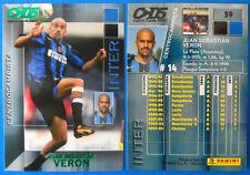 CALCIO CARDS 2005 PANINI - N. 59 - VERON - INTER - new