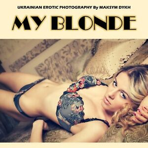 Erotic Photography Book - My Blonde