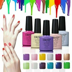 Nail Gel Polish Soak off UV LED Base Top Colour Coat Set Lacquer DIY Kits Gifts