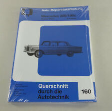 Reparaturanleitung Mercedes Benz 190c / 200 - W 110 - Heckflosse  Band 2 !