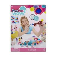 Maya Toys Pom Pom Wow Mega Pack Ages 6+ New Toy Girls Boys Play Build Fun Paint
