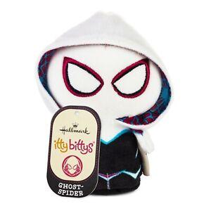 Hallmark Itty Bittys Ghost-Spider Marvel Rising Gwen Stacy Stuffed Animal NWT