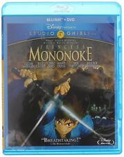 Princess Mononoke (Blu-ray/Dvd, 2014, 2-Disc Set) New Sealed Free Shipping