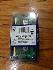 KINGSTON KAC-MEME/1G 1GB MEMORY MODULE - NEW