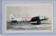 1946 BOEING B-17G FLYING FORTRESS BOMBER ORIGINAL PHOTO ARMY WWII AVIATION RARE