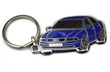 Audi A4 Azul Coche Metal Llavero Car Clave Chain